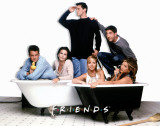Friends - Bath Tubs Masterprint