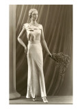 Twenties Mannequin with Feathers Prints
