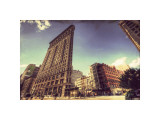 Flat Iron Giclee Print by Eric Wood