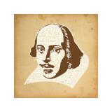 Shakespeare Lámina giclée