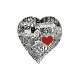 Amour en 44 langues Reproduction procédé giclée