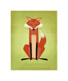The Crooked Fox Giclee Print by John Golden