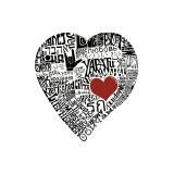 Amor en 44 idiomas Lámina giclée