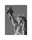 Liberty with Torch Giclée-tryk af Christopher Bliss