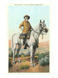 Buffalo Bill on Horse, Isham Posters