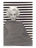 Op Art Fashion Model Prints