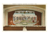 Interior, Municipal Auditorium, San Antonio, Texas Art