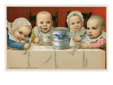 Crazed Babies with Condensed Milk Poster