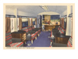 Super Chief Lounge Car Prints