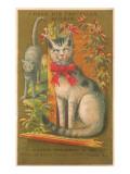Victorian Cats, I Hear his Footfalls Prints