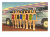 Bathing Beauties by Bus Posters