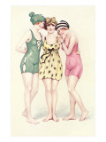 Women in Bathing Costumes Posters