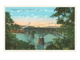 Tennessee River Bridge, Knoxville, Tennessee Prints