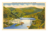Hydro-Electric Plant, Watauga River, Tennessee Posters