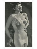 Lady in Full-Body Foundation Garment Photo