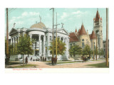 Carnegie Library, Houston, Texas Print