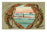 Souvenir from ... Lobsters Print
