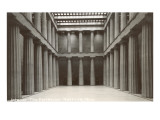 Interior, Parthenon, Nashville, Tennessee Prints