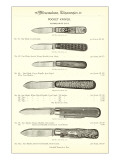 Advertisement for Pocket Knives Print