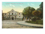 Alamo, San Antonio, Texas Prints