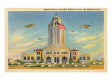 Randolph Air Field, San Antonio, Texas Prints
