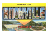 Scenes of Knoxville, Tennessee Prints