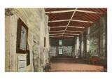 Interior, Alamo, San Antonio, Texas Print