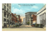 Mills Street, El Paso, Texas Prints