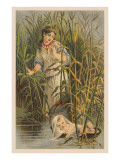 Moses Found in the Bulrushes Posters