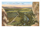 Highway 16, Kerrville, Texas Prints
