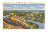 View from the Incline over Chattanooga, Tennessee Poster