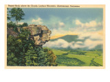 Sunset Rock, Chattanooga, Tennessee Prints