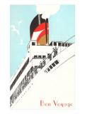 Bon Voyage, Steamship Disembarking Posters