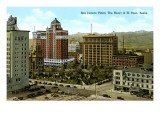 San Jacinto Plaza, El Paso, Texas Poster