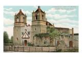Concepcion de Acuna Mission, San Antonio, Texas Prints