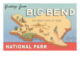 Greetings from Big Bend National Park Prints