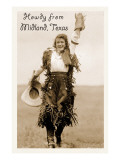 Howdy from Midland,Texas Prints