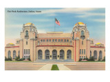 Fair Park Auditorium, Dallas, Texas Poster