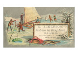 Ice Fishing and Ice Boats Posters
