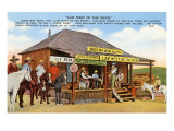 Judge Roy Bean's Courthouse, Langtry, Texas Posters