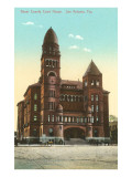 Courthouse, San Antonio, Texas Prints