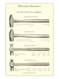 Advertisement for Steel Hammers Julisteet