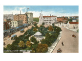 Alamo Plaza, San Antonio, Texas Poster