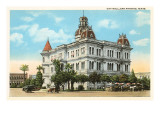 City Hall, San Antonio, Texas Prints