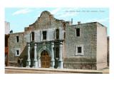 Alamo, San Antonio, Texas Print
