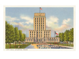 City Hall, Houston, Texas Prints