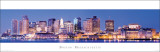 Massachusetts - Boston Skyline Plakater