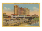 Buccaneer Hotel, Galveston, Texas Prints