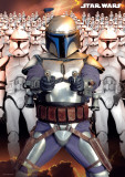 Star Wars -Jango Fett Army-One Sheet Kunstdrucke