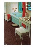 Sixties Bathroom Prints